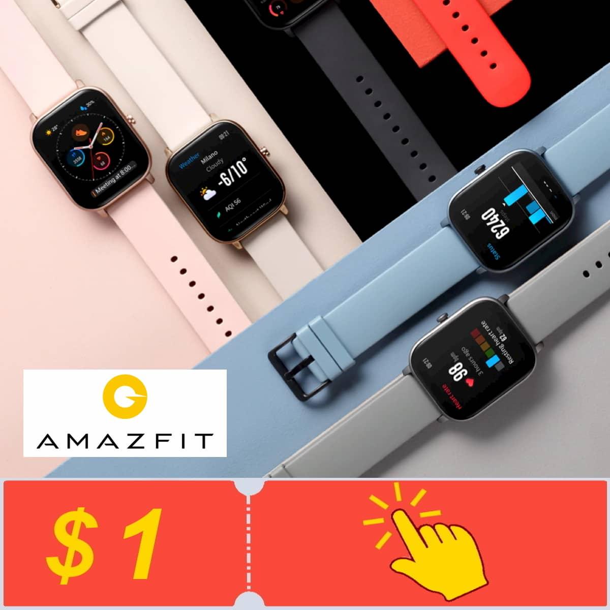 Получите купоны от Amazfit Official Store на Алиэкспресс