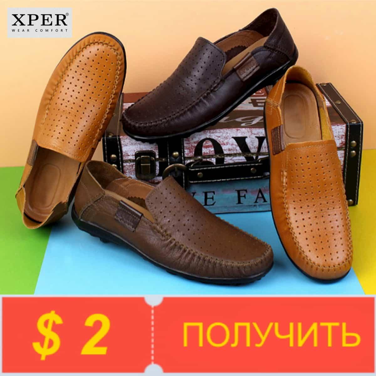 Получите купоны на мужскую обувь Xper от ALI Footwear Store на Алиэкспресс