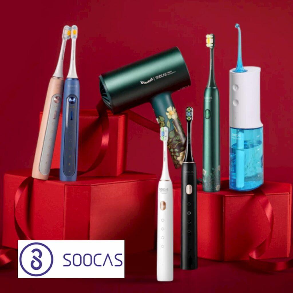 SOOCAS: ирригаторы, зубные щетки, фены, триммеры